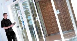 Commercial door repair coquitlam