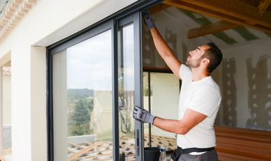 Sliding glass patio door repair Langley