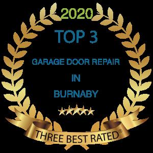 top 3 garage door repair burnaby