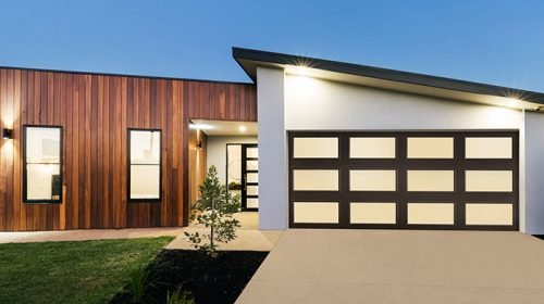 Amarr full view Garage door
