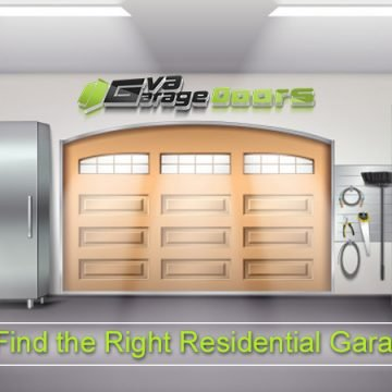 How to Find the Right Residential Garage Door