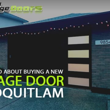 How to Go About Buying a New Garage Door in Coquitlam
