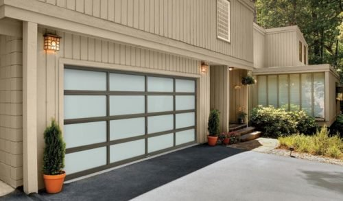 Vista-full view garage door