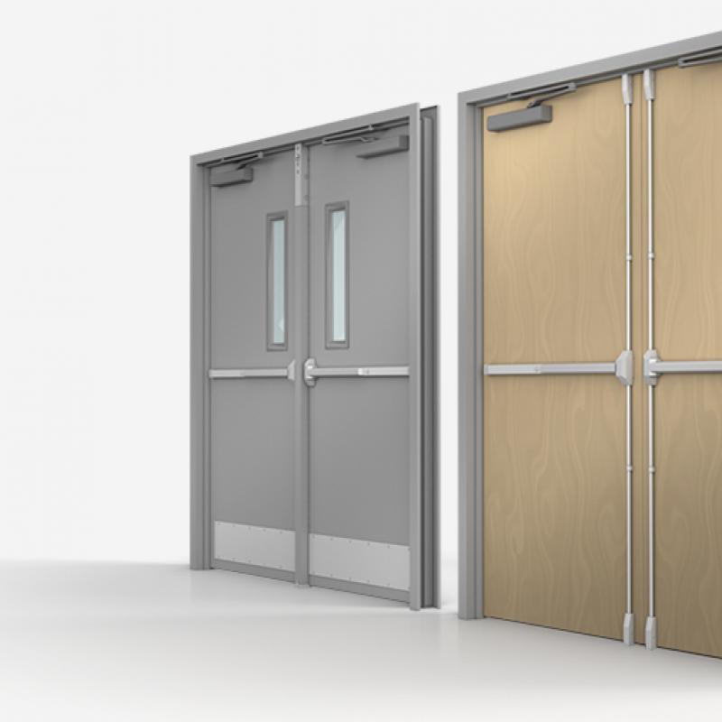 New Commercial Door